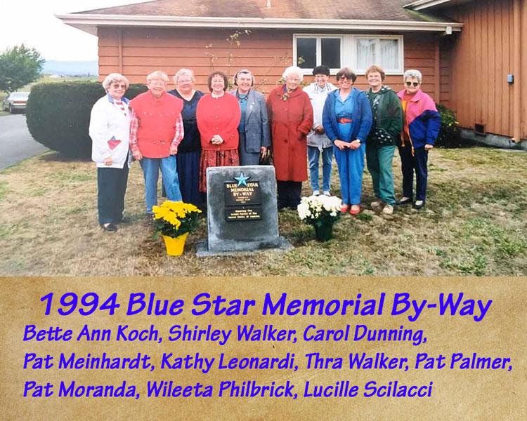 1994 Blue Star Memorial